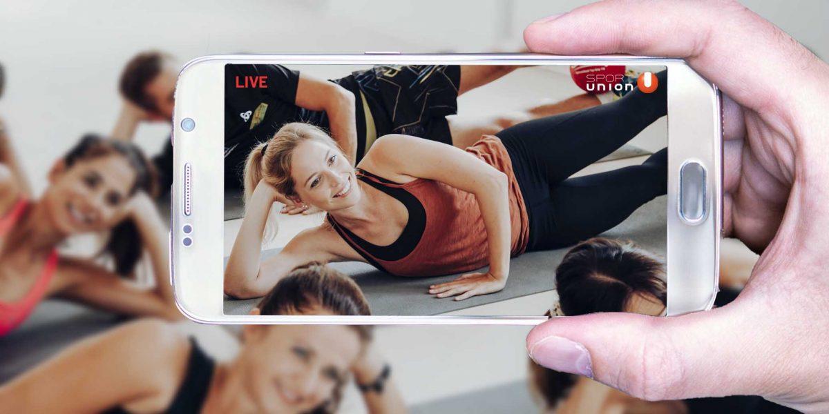 digitaler Vereinsinhalt auf dem Smartphone